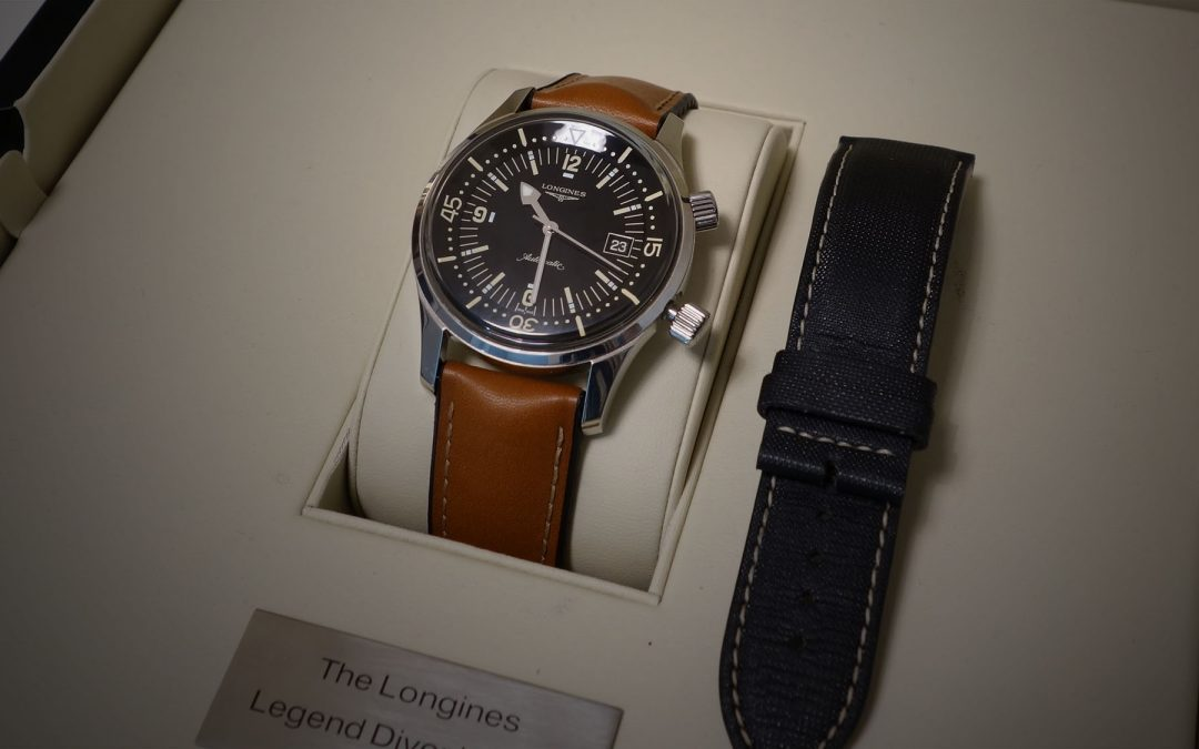 Longines Legend Diver – Perinteet nousevat pintaan