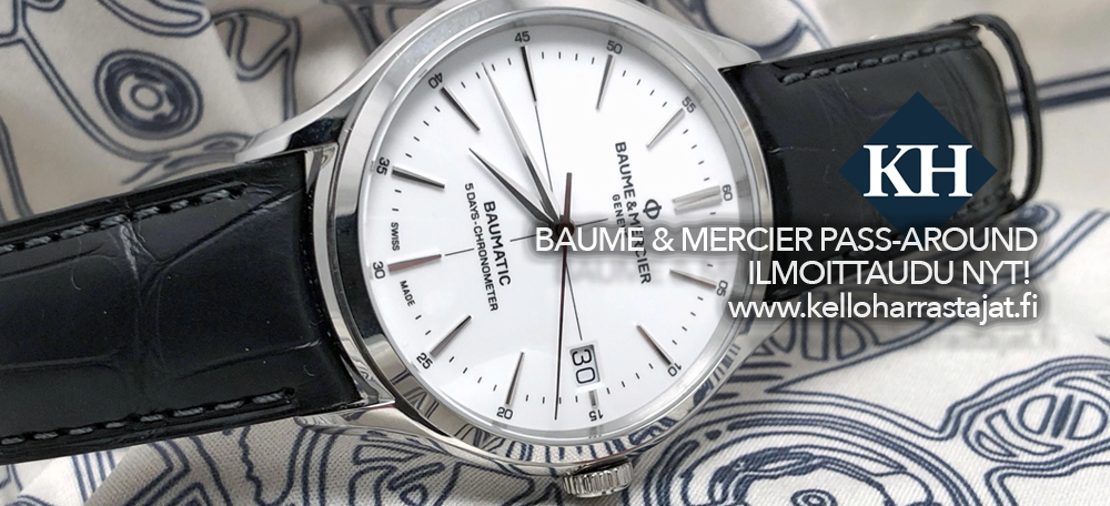 PASS-AROUND 2019! Baume & Mercier x Salkari x KH