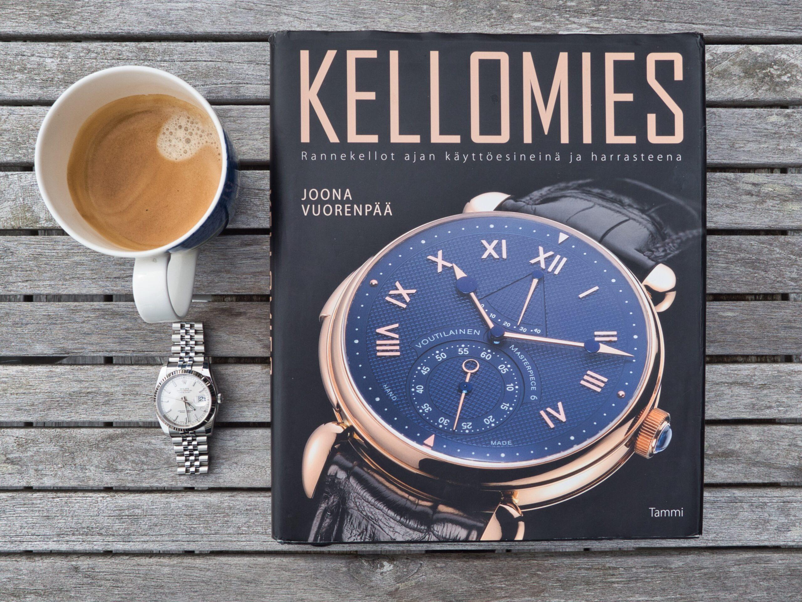 Katsaus: KELLOMIES –kirja täyttää ensi vuonna 10 vuotta, millaisessa iskussa suomalaisen kellokulttuurin klassikko on?